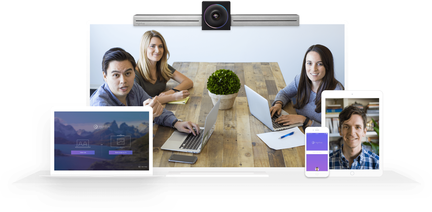 Connect With Highfive Video Conferencing