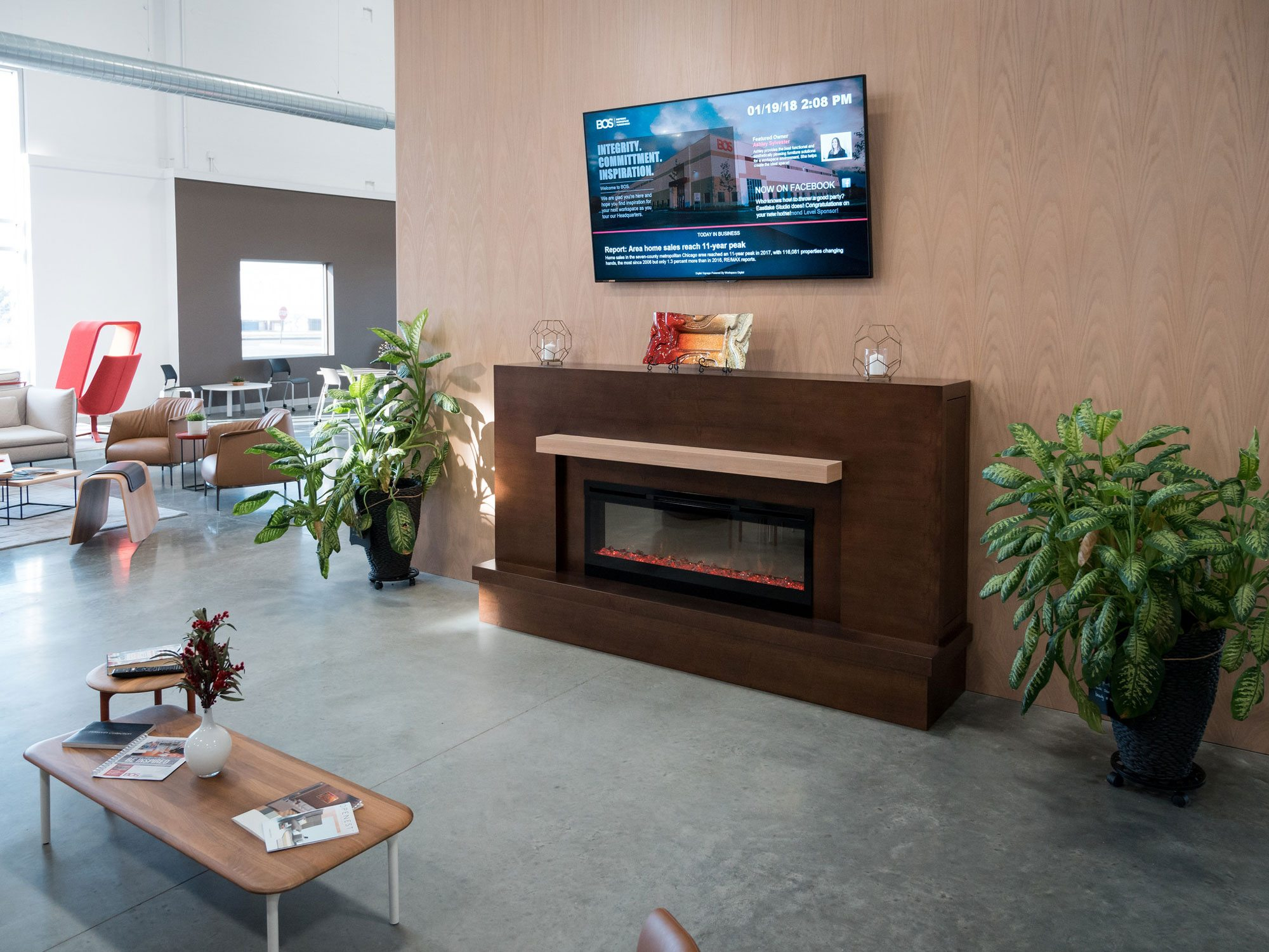 Five Ways to Create A Better Place to Work with Digital Signage