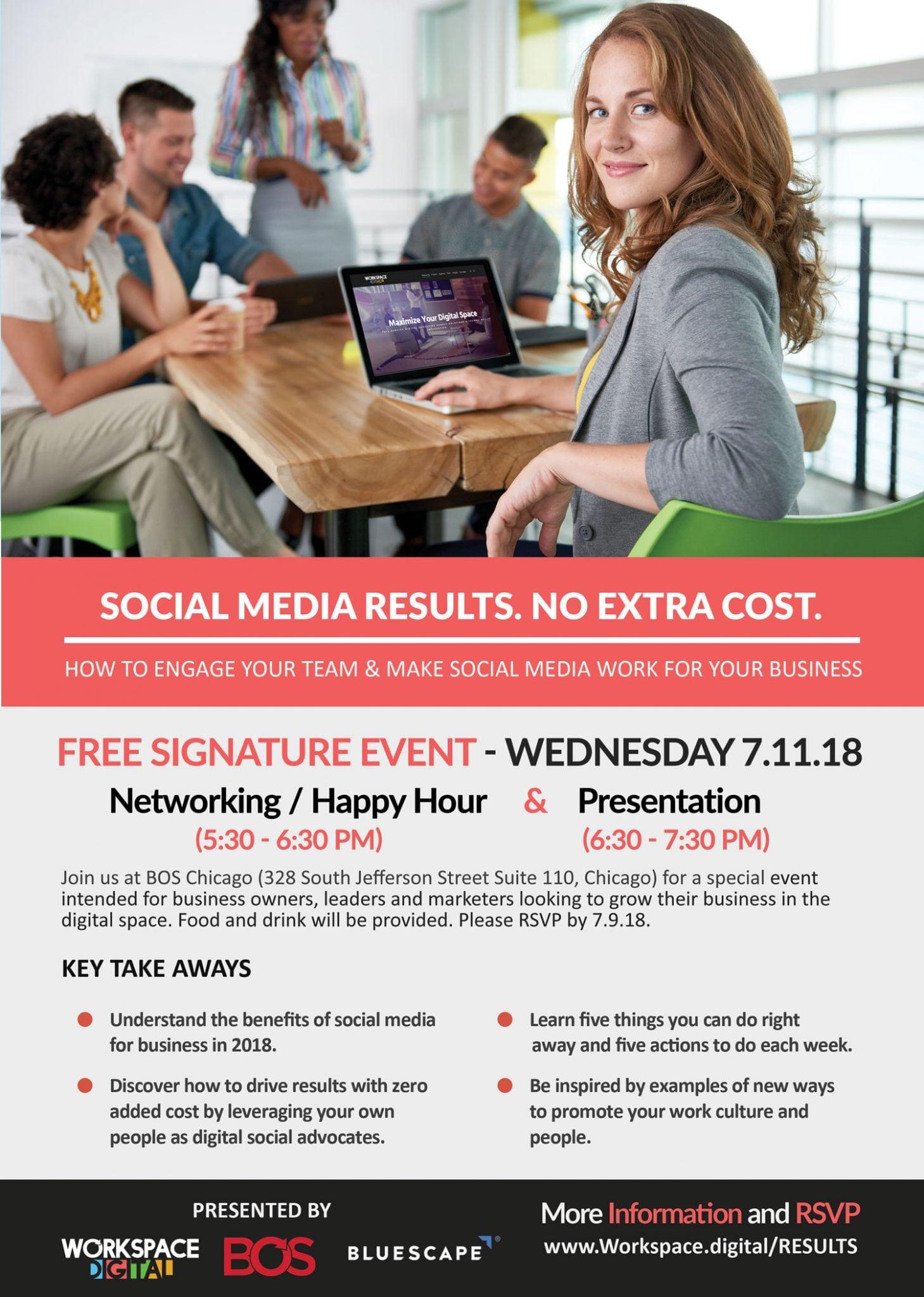 Social Media Results Event