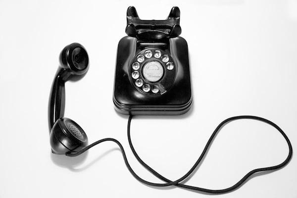 death of landline telephone