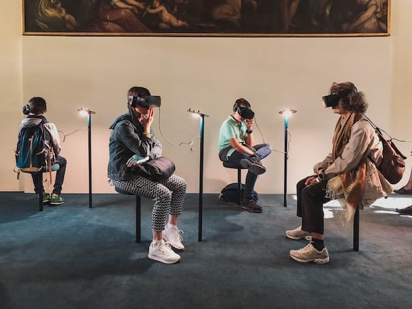 Virtual Reality Fad or Future Blog Post Group Headsets