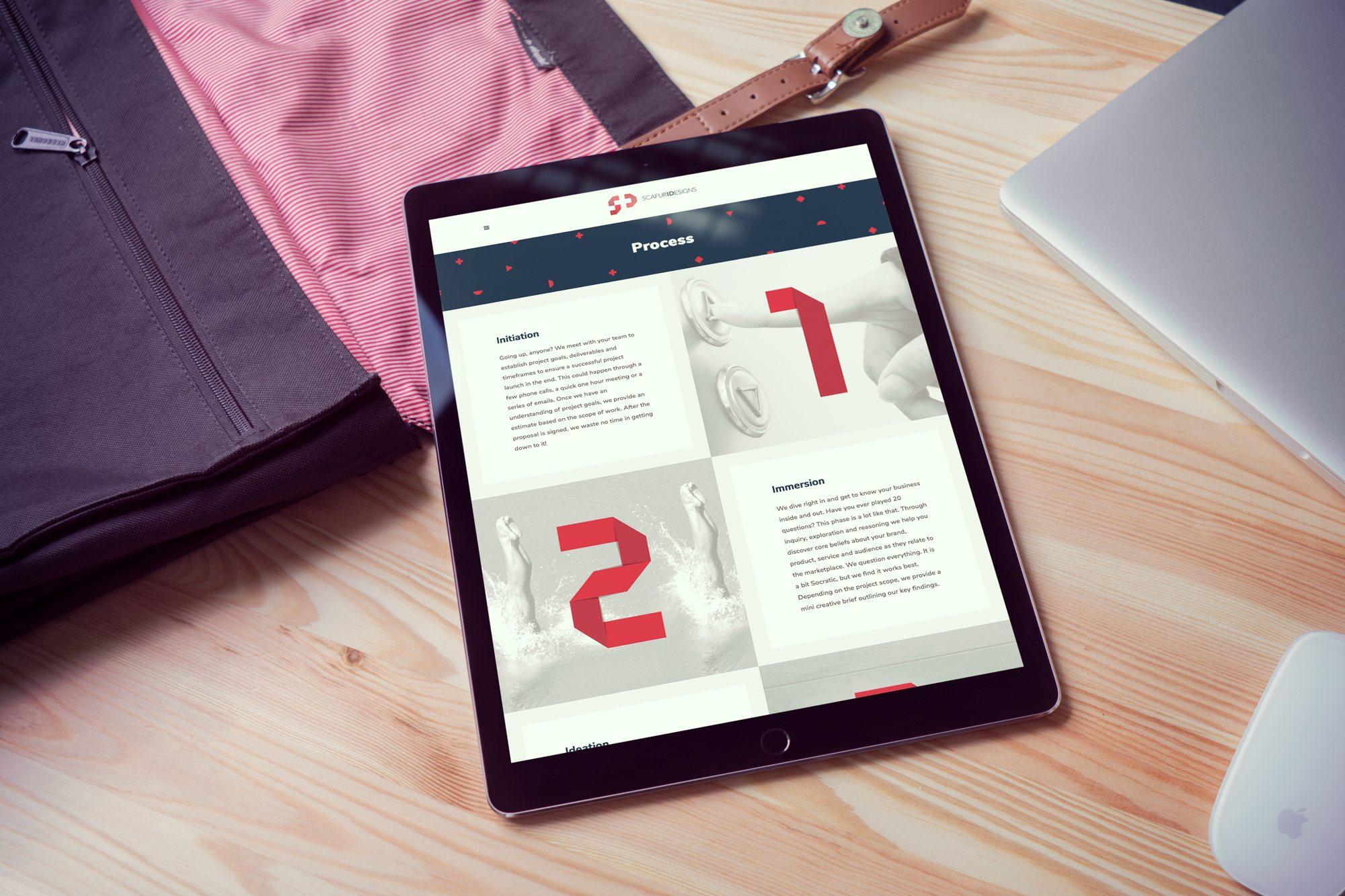 Workspace Digital Web Work - Scafuri Designs