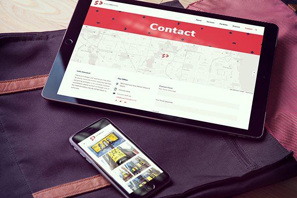 Scafuri Design Website