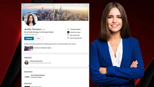Linkedin Profile and Cover Photo