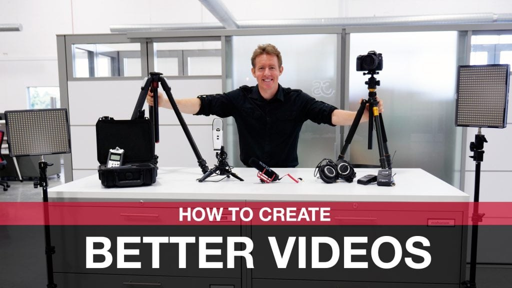 create better videos creating video content