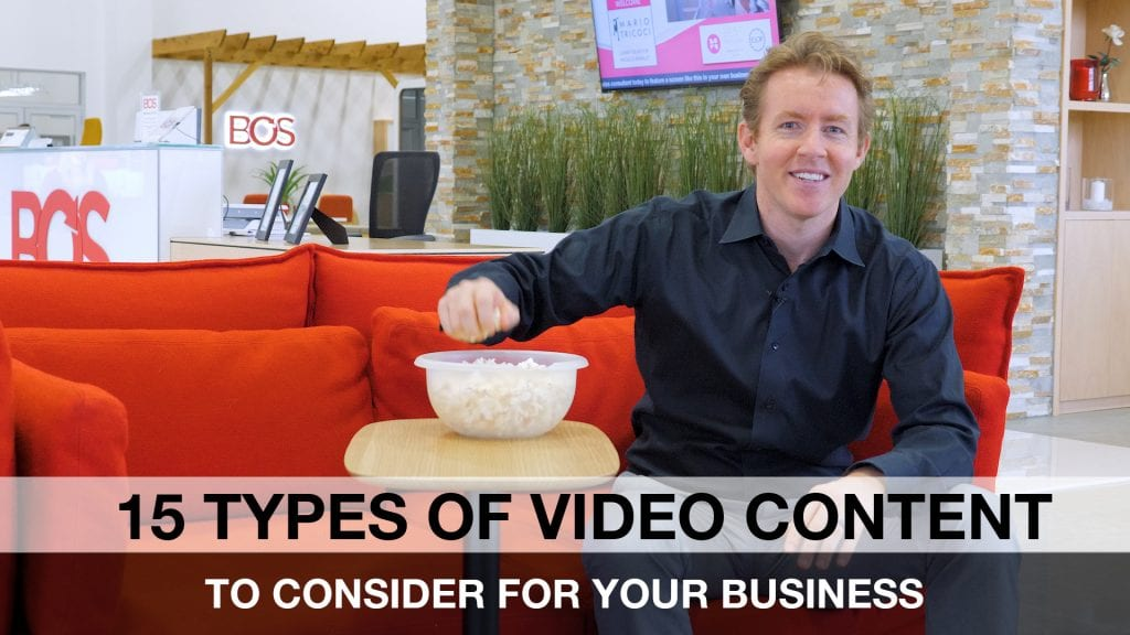 15 types of video content different video content