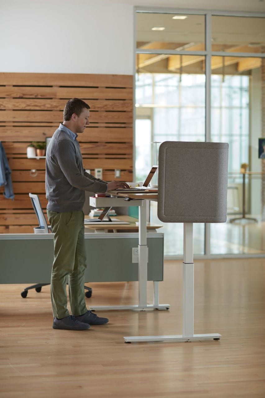 The Benefits of a Sit to Stand Desk - Workspace Digital