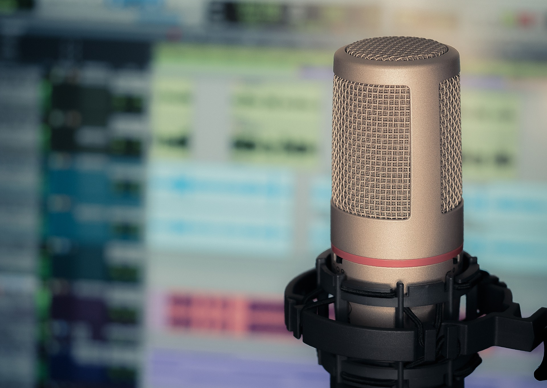 Podcast Microphone and Editing